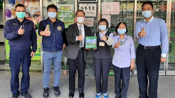 3行員阻詐攔下273萬 彰化縣警察局長表揚感謝