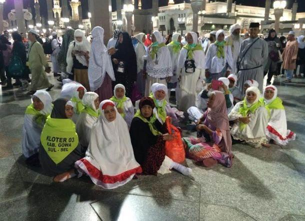 Begini Kondisi Para Jamaah Haji Lansia Dari Makassar Saat Cuaca Panas Melanda Madinah