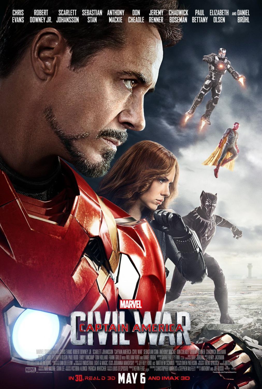 Capitão América Guerra Civil – HD 720p