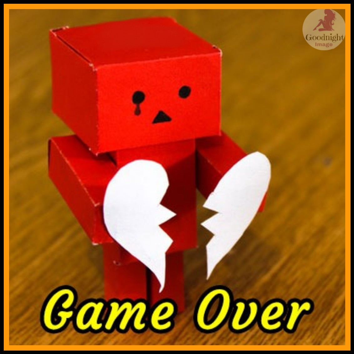 game over dp for whatsapp