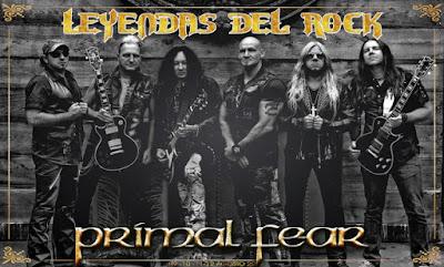 Primal Fear Leyendas del Rock