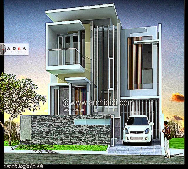 3 Contoh Denah Rumah Minimalis Modern Terbaru: Design Rumah Minimalis