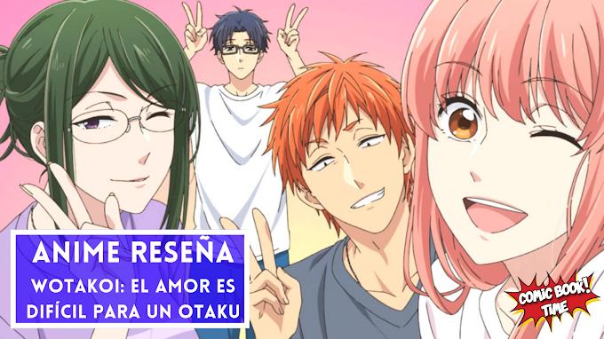 Anime reseña: 'Wotakoi: El amor es difícil para un otaku', historias del día a día de unos jóvenes otakus | Disponible en Prime Video