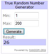 sorteio+2 - Resultado do segundo sorteio