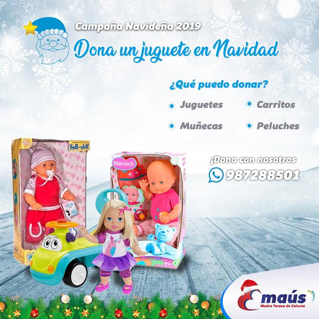 Dona muñecas y barbies para las niñas en Cusco Navidad 2019