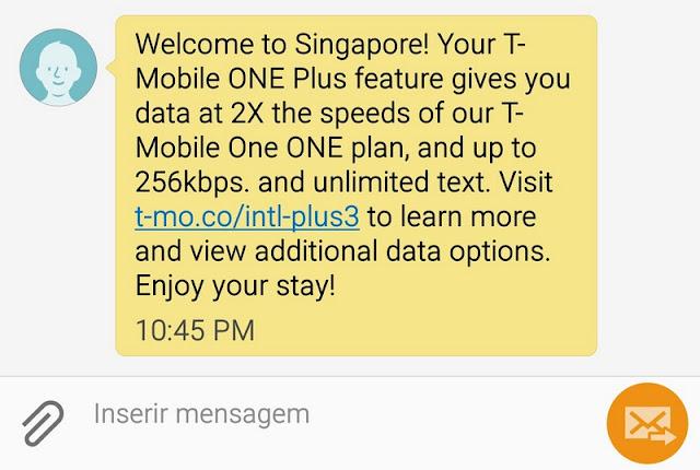 Chip de celular para usar internet em Cingapura