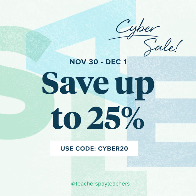 You deserve the resources you need for this turbulent school year and to get them ON SALE at 25% off! ♥