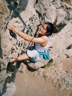 Keren! 5 Seleb Cantik  yang Suka Olahraga Panjat Tebing
