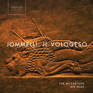 Jommelli Il Vologeso; Stuart Jackson, Rachel Kelly, Gemma Summerfield, Angela Simkin, The Mozartists, Ian Page; Signum Classics