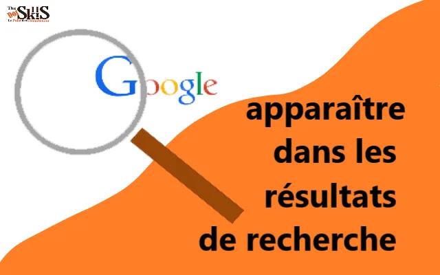 Comment apparaître dans les résultats de recherche initiaux sur Google?
