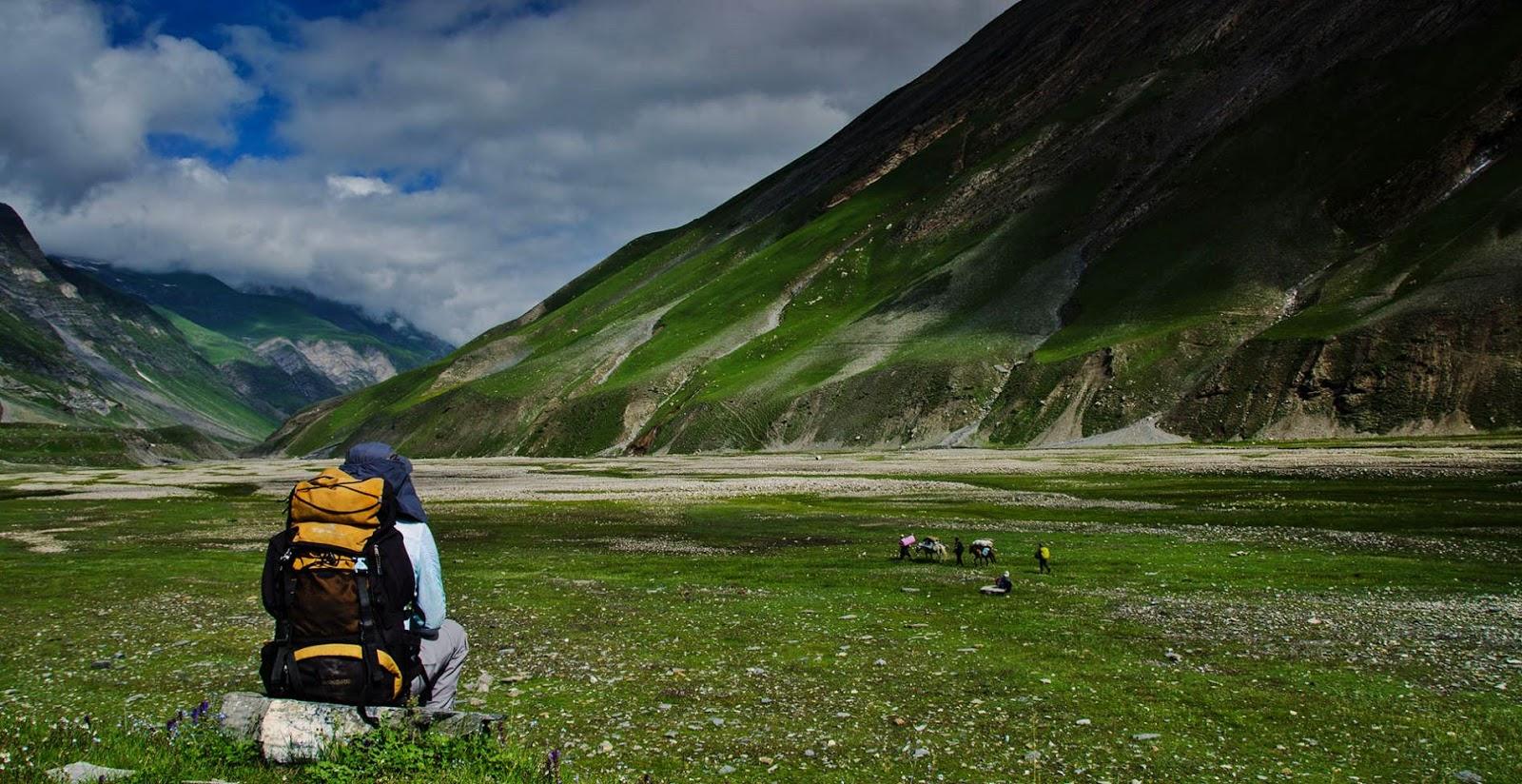 Grasslands between Humpet and Kaintal