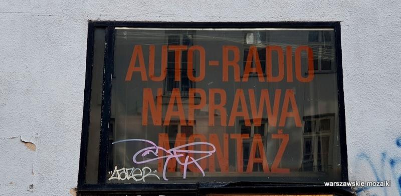 Warszawa Warsaw Śródmieście szyldy warszawskie szyld retro