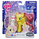 MLP Single Fluttershy Brushable Pony