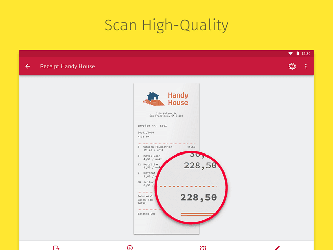 Scan High Quality Documents