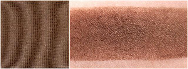 TOO FACED eyeshadow swatche : Triple Fudge