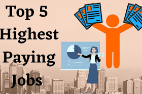 Top 5 Highest Paying Jobs In India For Students 2021 In Hindi