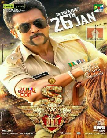 Singam 3 2017 UNCUT Hindi Dual Audio HDRip Full Movie Download