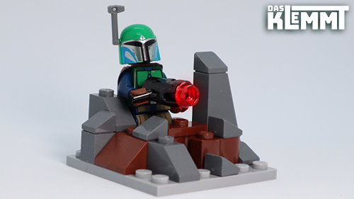 Auch Mandalorianer spielen mit Slopes und Bricks von LEGO®