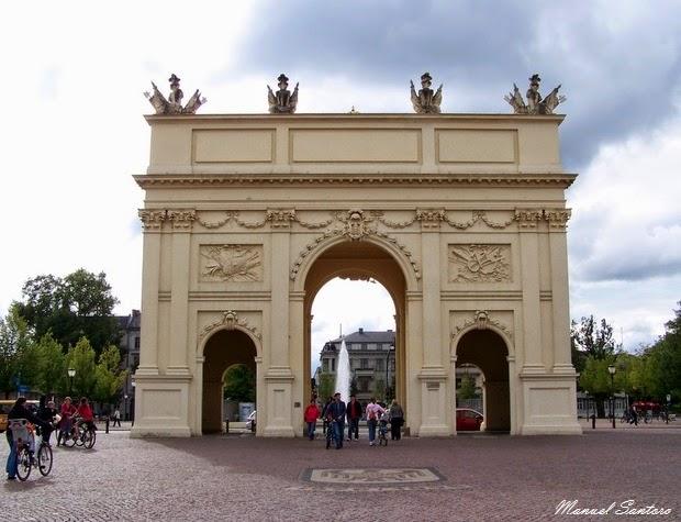 Potsdam, Porta di Brandeburgo