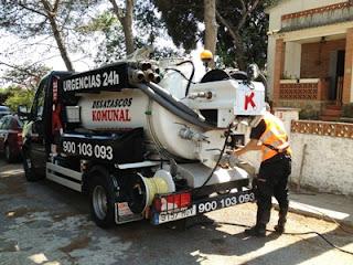 Santa Coloma: servicio de desatascos