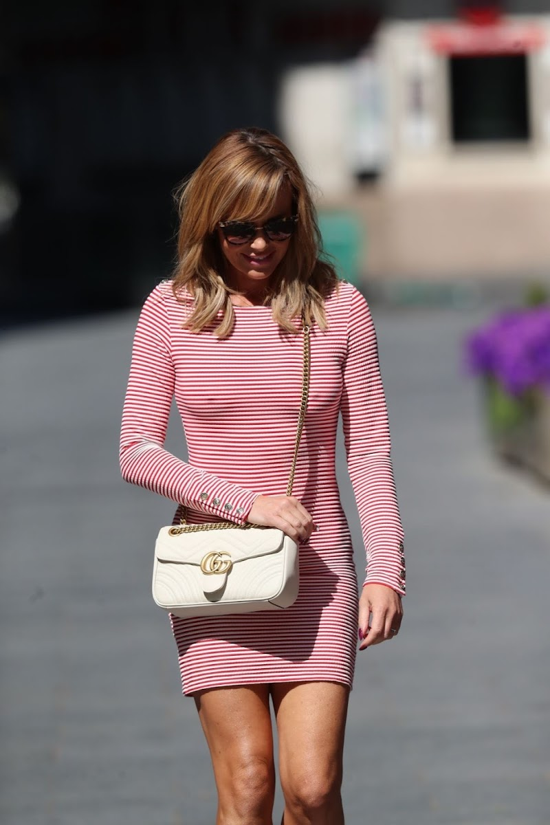 Amanda Holden Clicked Tights Leaves Global Radio in London 12 May-2020