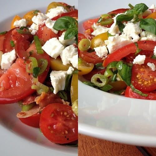 Tomatensalat nach Jamie Oliver