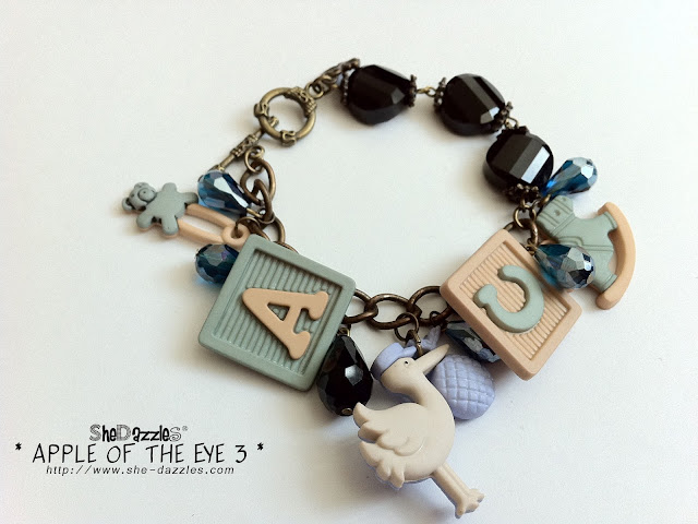 baby-themed-charm-bracelet-malaysia