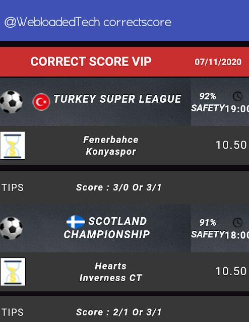 Viking Betting Tips correct score