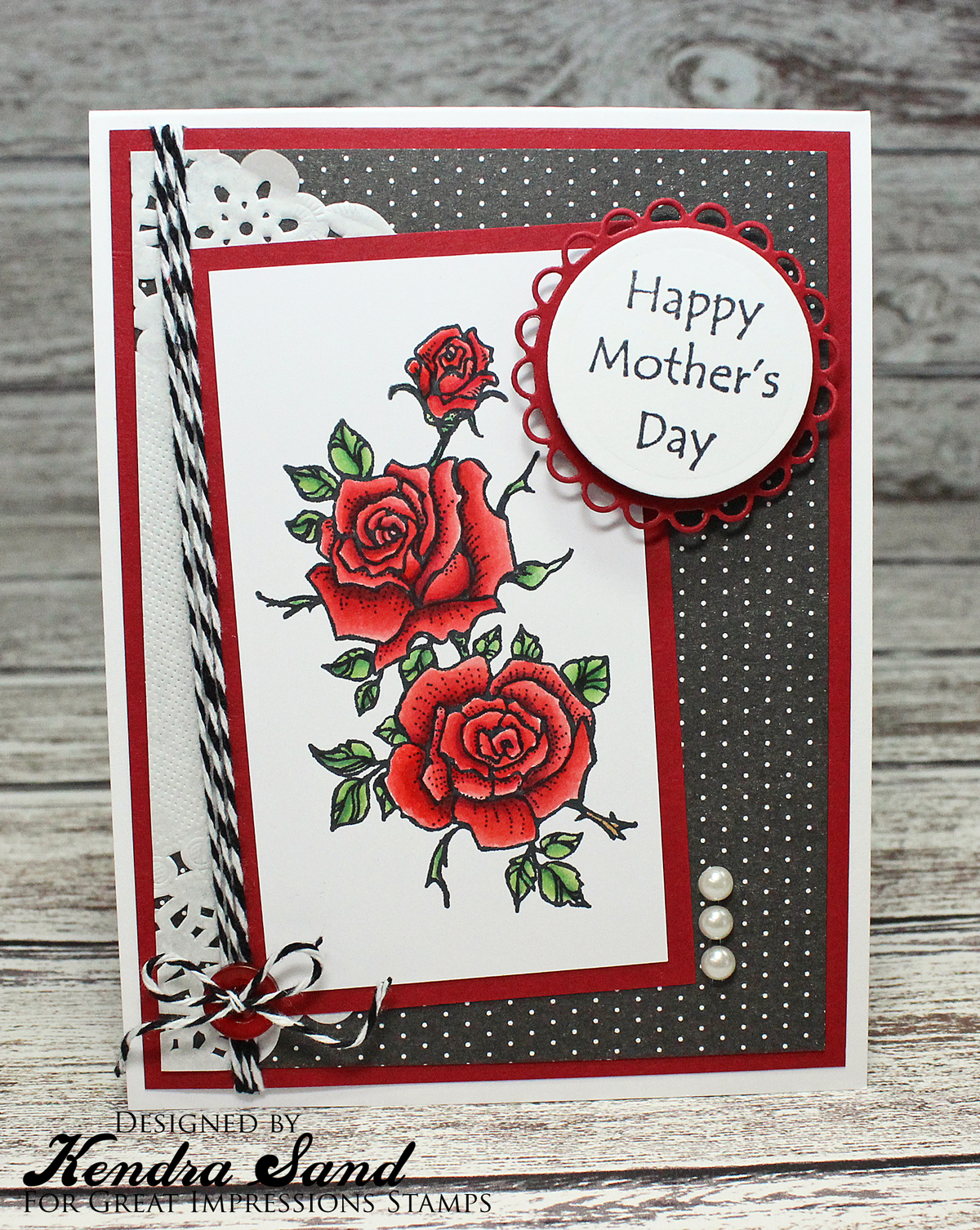 Luv 2 Scrap n' Make Cards: Happy Mother's Day with GI