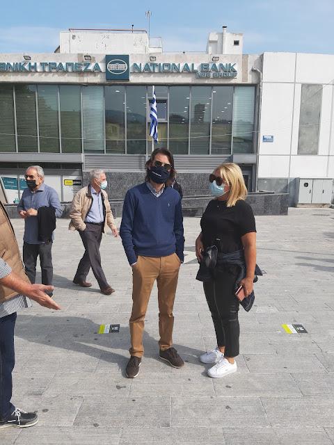 Κοροναϊός : Ουρές για rapid test στη Λιβαδεια(ΦΩΤΟ)