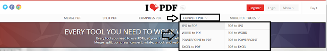 Geveducation:  Cara Convert File dan Memperkecil Ukuran File Menggunakan ILovePdf