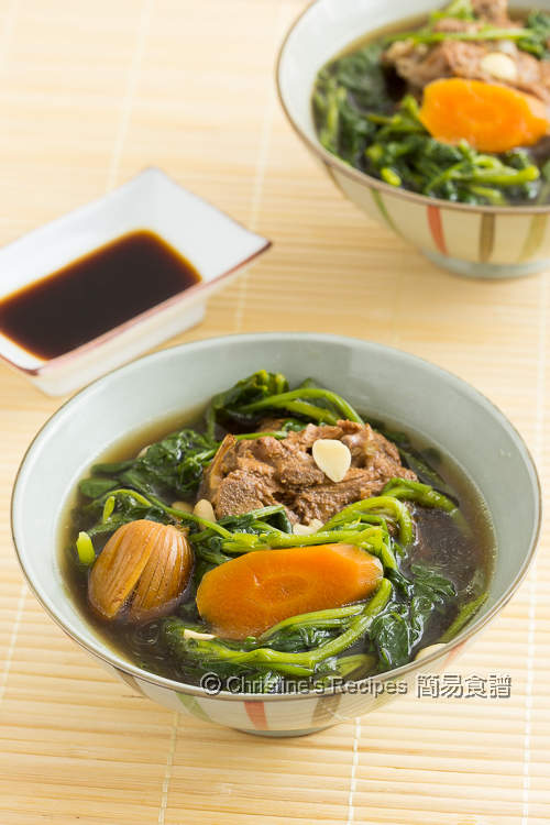 西洋菜羅漢果豬骨湯 【清熱甜美】 Watercress and Monk Fruit Soup