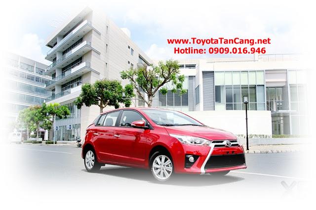 Yaris 2015 là mẫu xe đô thị rất được ưa chuộng tại thị trường Việt Nam