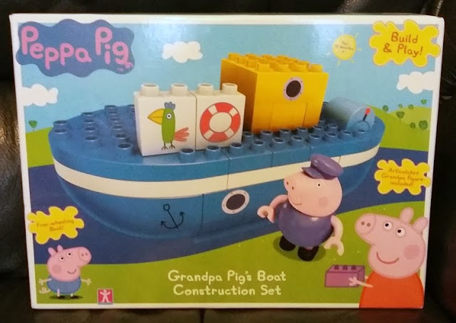 Peppa Pig Construction - Grandpa Pig's Boat