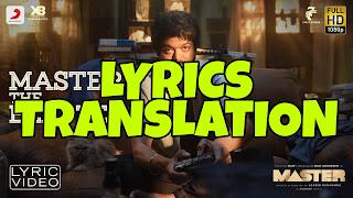 Master The Blaster Lyrics Meaning/Translation in Hindi – Master