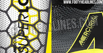 new concept e6068 7feec ... Mercurial Superfly Leak Confirmed - Anthracite Opti Yellow Nike  Mercurial FlyLite SuperLock 2019 Shin Guards Leaked ...