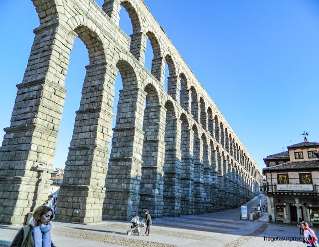 Aqueduto Romano de Segóvia