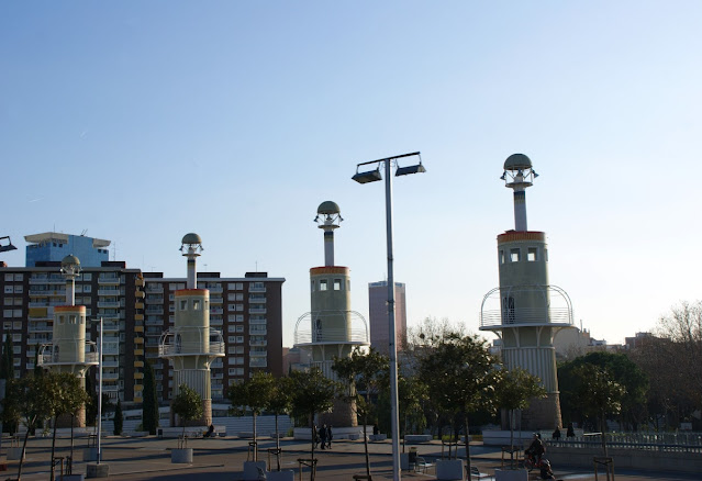 Parc de l'Espanya Industrial, uno dei parchi di Barcellona
