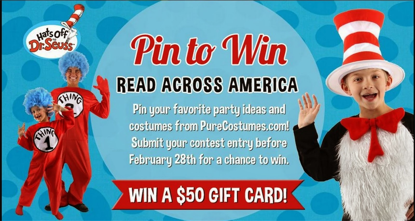 obSEUSSed: Dr  Seuss Costume Accessories Giveaway and Photo