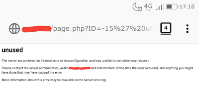 SQL Injection Bypass Unused