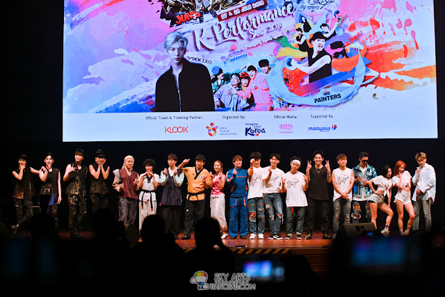 K-Performance Show 2019 - JUMP, The Painters, Sachoom, VIXX Leo & T-bird in Malaysia
