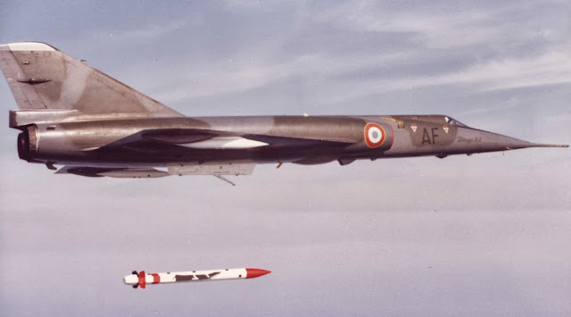 Dassault Mirage IV P with ASMP  Nuclear missile