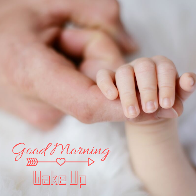 Good Morning Images With Baby Hand