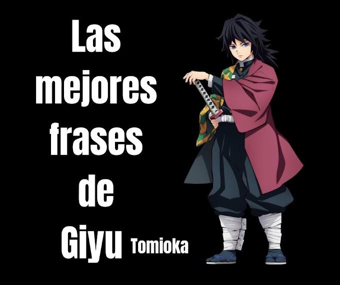 Las mejores Frases De Giyu Tomioka,  Demon Slayer