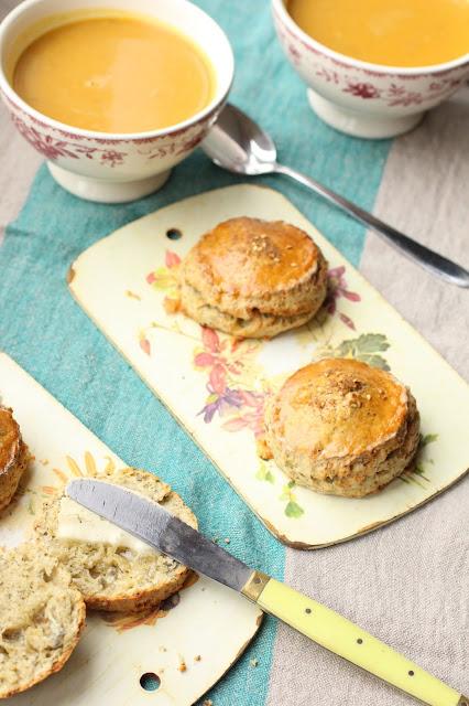 scones au fromage bleu