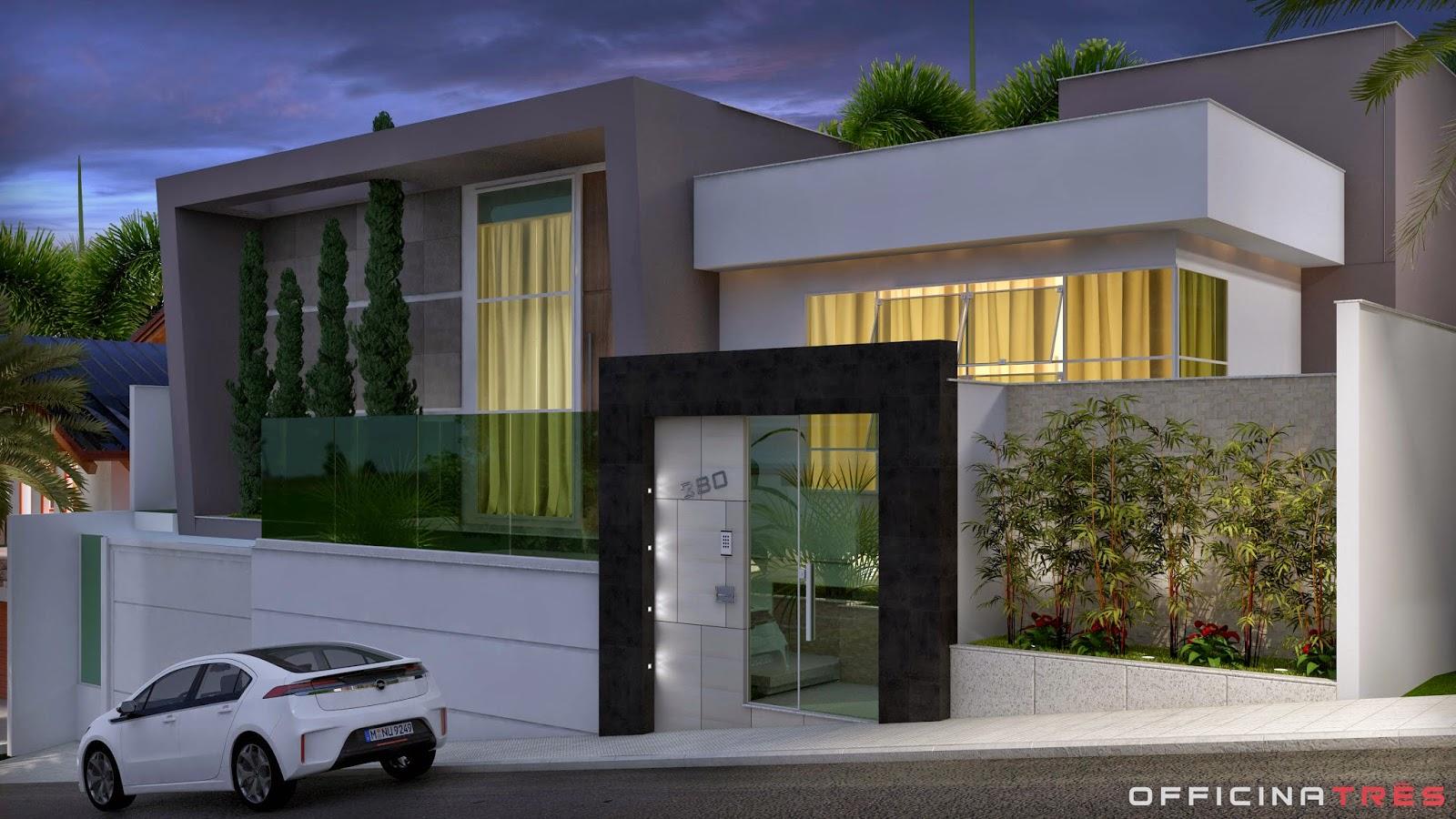Officinatr s casa moderna loteamento alphaville manhua u mg for Casa moderna 5
