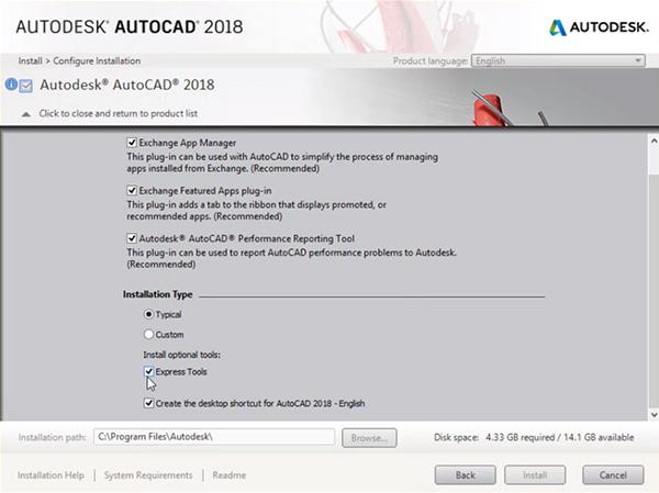 Hướng dẫn cài đặt AutoCAD 2018 chi tiết bằng hình ảnh d