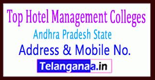 Top Hotel Management Colleges in Andhra Pradesh