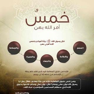 দারসুল হাদীসঃ মুসলিম হিসেবে জীবন যাপনের জন্য আল্লাহর ৫টি হুকুম মেনে নেয়া জরুরী