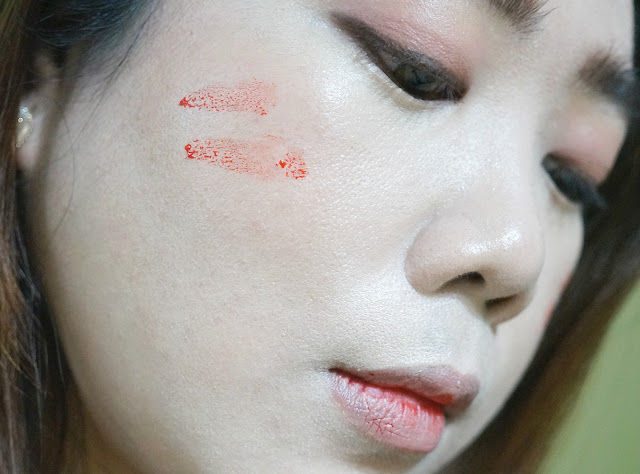 Skin Genie Lip and Cheek Stain Alive in Tulip Red